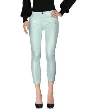 Повседневные брюки 75 FAUBOURG. Цвет: светло-зеленый