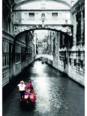 Пазл Кранд-канал. Венеция  1000шт Ravensburger. Цвет: зеленый