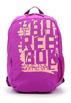 Рюкзак Reebok. Цвет: розовый