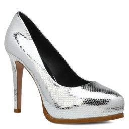 Туфли  C-830 серебряный KISS MOON