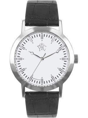 Часы РФС. Цвет: черный, серебристый