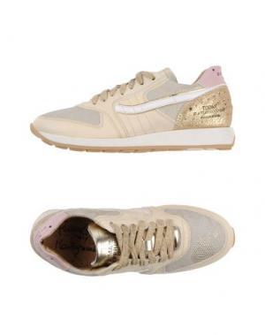 Низкие кеды и кроссовки PRIMABASE. Цвет: бежевый