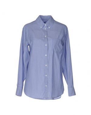 Pубашка EQUIPMENT FEMME. Цвет: синий