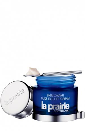 Крем для области вокруг глаз Skin Caviar Luxe Eye Lift Cream La Prairie. Цвет: бесцветный
