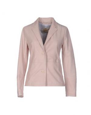 Пиджак VINTAGE DE LUXE. Цвет: розовый