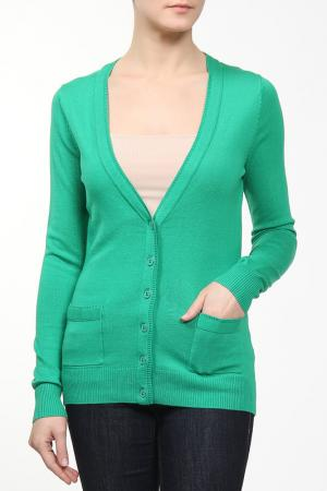 Кардиган VIS-A-VIS. Цвет: зеленый