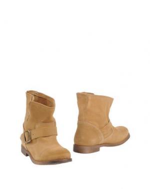 Полусапоги и высокие ботинки KENT. Цвет: верблюжий