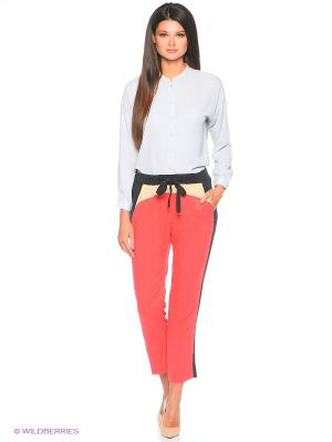 Брюки Pantaloni Torino. Цвет: красный