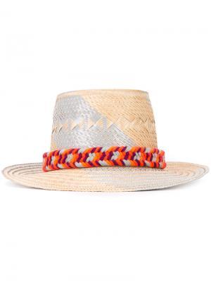 Шляпа Maia Yosuzi. Цвет: телесный