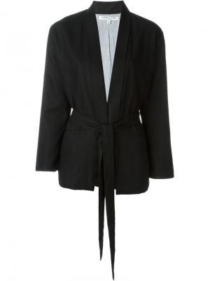 Пиджак Castletown с запахом Valentine Gauthier. Цвет: чёрный