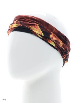 Повязка на голову Maxval. Цвет: оранжевый