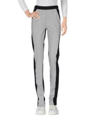Повседневные брюки PAOLO ERRICO. Цвет: светло-серый