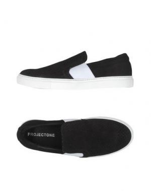 Низкие кеды и кроссовки PROJECT ONE. Цвет: черный