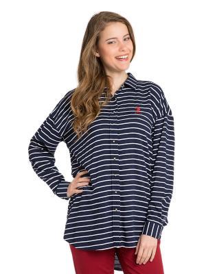Рубашка U.S. Polo Assn.. Цвет: темно-синий