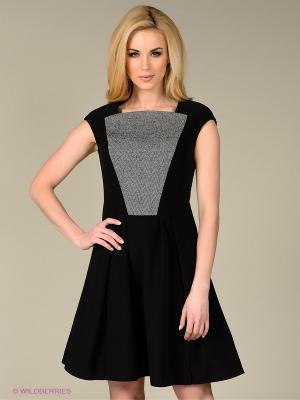 Платье Sweet Me. Цвет: черный, серый