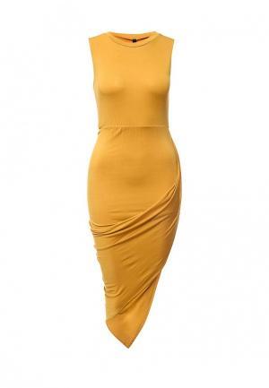 Платье Influence. Цвет: желтый