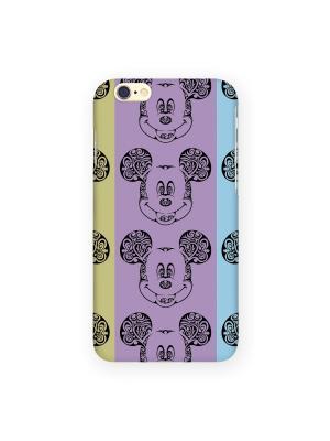 Чехол для iphone 6 Mitya Veselkov. Цвет: фиолетовый, голубой, салатовый