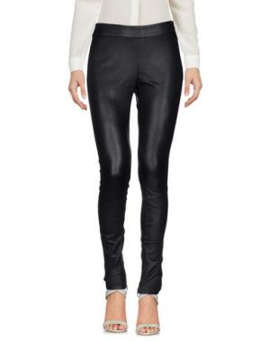 Повседневные брюки DAVID LERNER. Цвет: черный