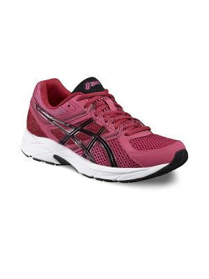 Спортивная обувь GEL-CONTEND 3 ASICS. Цвет: розовый, черный