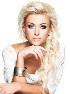 Накладные волосы, пряди на заколках-клипсах Lana VIP-PARIK. Цвет: молочный