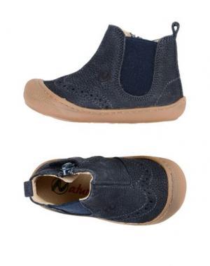Полусапоги и высокие ботинки NATURINO. Цвет: грифельно-синий
