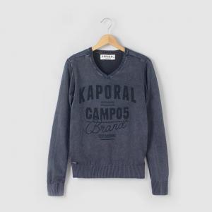 Пуловер, 100% хлопка, для 10 - 16 лет KAPORAL 5. Цвет: индиго