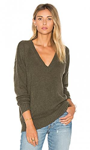 Кашемировый свитер sydney 360 Sweater. Цвет: зеленый
