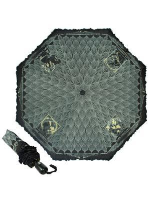 Зонт складной EMME M421B-OC Greece Black. Цвет: черный