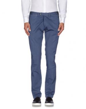 Повседневные брюки JEY COLE MAN. Цвет: грифельно-синий