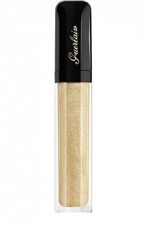 Блеск для губ Gloss DEnfer, оттенок 400 Сияние золота Guerlain. Цвет: бесцветный