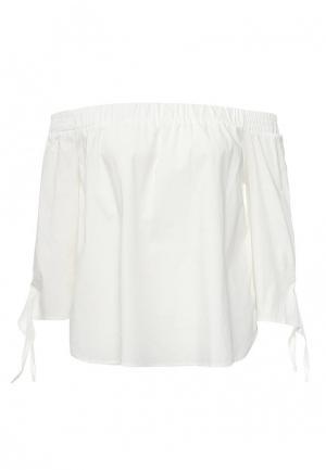 Блуза Alcott. Цвет: белый