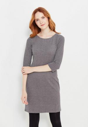 Платье Tom Tailor. Цвет: серый