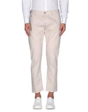 Повседневные брюки DONDUP. Цвет: светло-розовый