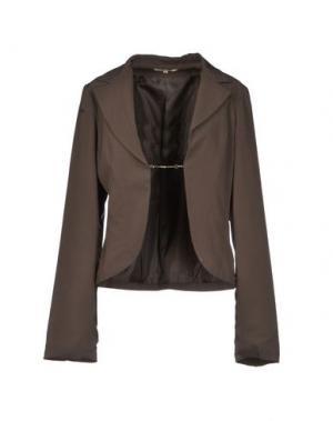 Пиджак BETTY BLUE. Цвет: свинцово-серый
