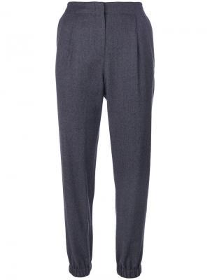 Узкие брюки Ps By Paul Smith. Цвет: синий