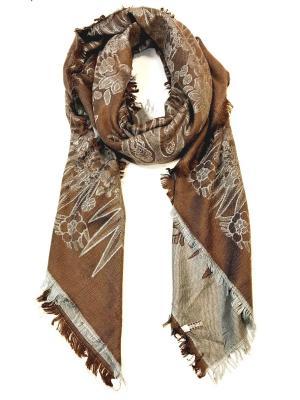 Платок NINA ROSSI. Цвет: коричневый