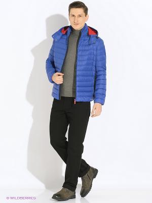 Пуховик GEOX. Цвет: синий, красный, темно-синий