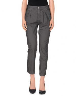 Повседневные брюки RA-RE. Цвет: свинцово-серый