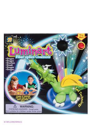 Набор для творчества Светящийся дракон AMAV. Цвет: зеленый, синий