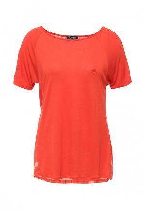 Блуза Armani Jeans. Цвет: оранжевый