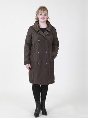 Пальто Эмбер VIKO. Цвет: коричневый