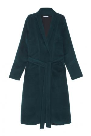 Кашемировое пальто Inshade. Цвет: зеленый