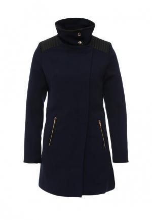 Пальто Softy. Цвет: синий