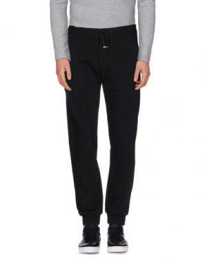 Повседневные брюки THE EDITOR. Цвет: черный