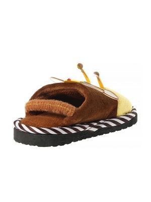 Тапочки домашние детские Migura. Цвет: желтый, белый, черный, коричневый, оранжевый