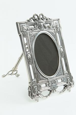 Рамка для фотографий Луи XVI Stilars. Цвет: серебряный