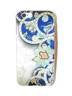 Чехол для iPhone 6/6s Lola. Цвет: голубой, белый, синий
