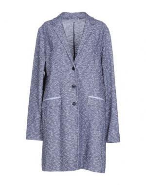 Легкое пальто AMINA RUBINACCI. Цвет: ярко-синий