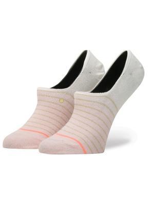 Носки ж BLUE WOMEN DIP TOE (SS17) Stance. Цвет: бледно-розовый, белый