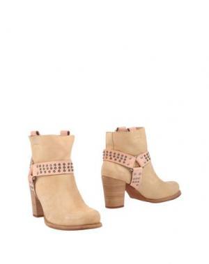 Полусапоги и высокие ботинки FELMINI. Цвет: песочный
